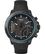 Timex T2P272 Preto dos homens t série cronógrafo linear relógio