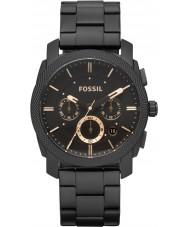 Fossil FS4682 máquina de Mens relógio cronógrafo preto