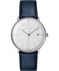 Junghans 041-4464-00 bill Max de couro azul relógio de pulseira