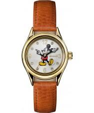 Disney by Ingersoll ID00901 Ladies união couro marrom relógio alça