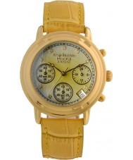 Krug-Baumen 150574DL Ladies princípio diamante relógio cronógrafo