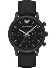 Emporio Armani AR1970 Mens clássico relógio cronógrafo preto