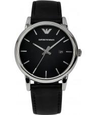 Emporio Armani AR1692 Mens relógio preto clássico