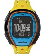 Timex TW5M00800 150 voltas tamanho completo Ironman resina amarela elegante relógio pulseira