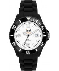 Ice-Watch SI.BW.B.S grande relógio preto branco-gelo