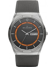 Skagen SKW6007 Mens remanesce relógio malha cinza