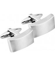 Inspirit STC14 Abotoaduras de aço de prata