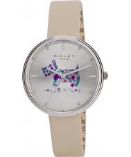 Radley RY2311 Ladies jardins alecrim cinta de couro creme relógio