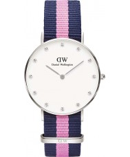 Daniel Wellington DW00100081 Ladies elegante winchester relógio 34 milímetros de prata