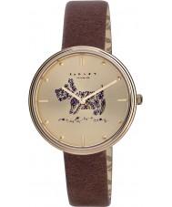 Radley RY2312 Ladies jardins alecrim tan couro relógio pulseira