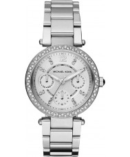 Michael Kors MK5615 Ladies parker aço de prata pulseira de relógio