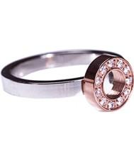 Edblad 79104 Senhoras mini-eternidade anel de ouro rosa - tamanho s (XL)