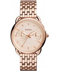 Fossil ES3713 Ladies tailor pulseira rosa relógio do aço ouro