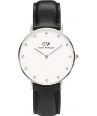 Daniel Wellington DW00100080 Ladies elegante Sheffield relógio 34 milímetros de prata