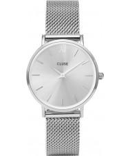 Cluse CL30023 relógio Ladies minuit malha
