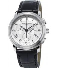 Frederique Constant FC-292MC4P6 clássicos do relógio de Mens Chronograph Preto