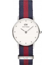 Daniel Wellington DW00100072 Ladies elegante relógio oxford 26 milímetros de prata