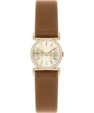 Orla Kiely OK2046 Ladies ouro cecelia banhado tan pulseira de relógio de couro