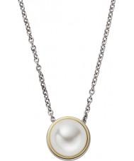 Skagen SKJ0880998 Ladies Agnethe colar de prata com gema de pérolas