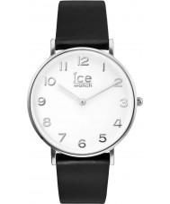 Ice-Watch 001502 Cidade-bronzeador exclusivo de couro preto pulseira de relógio