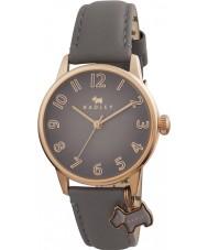 Radley RY2248 As senhoras de grandes dimensões relógio charme cão com pulseira de couro marsupial