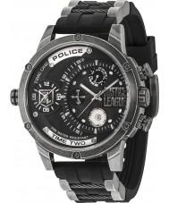 Police 14536JQ-02P Relógio da liga justiça dos homens