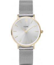 Cluse CL30024 relógio Ladies minuit malha
