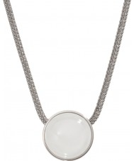 Skagen SKJ0080040 colar de prata Ladies mar de vidro