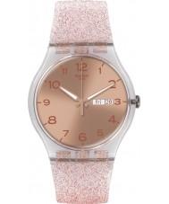 Swatch SUOK703 New Gent - relógio glistar rosa