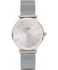 Cluse CL30025 relógio Ladies minuit malha