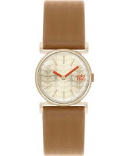 Orla Kiely OK2050 Senhoras cecelia tan couro relógio pulseira