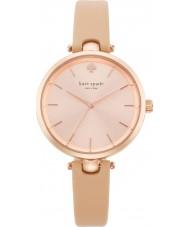 Kate Spade New York 1YRU0812 Ladies holland vachetta relógio com pulseira de couro