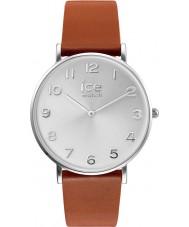 Ice-Watch 001507 Cidade-bronzeador exclusivo de couro marrom pulseira de relógio