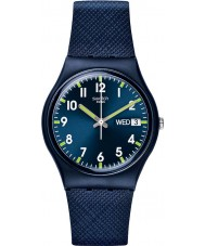 Swatch GN718 relógio azul senhor - gent Original