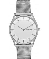 Skagen SKW2342 Senhoras magro Holst de aço pulseira de prata relógio