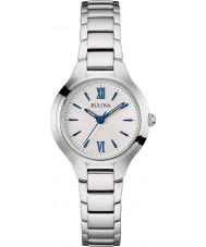Bulova 96L215 Vestido de damas tom de relógio de prata