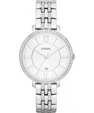 Fossil ES3545 Senhoras prata Jacqueline relógio de aço tom