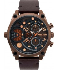 Police 15381JSBZ-12 Relógio de vigor dos homens