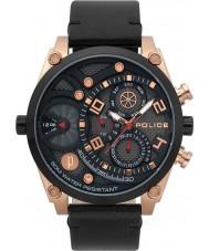 Police 15381JSRB-61 Relógio de vigor dos homens