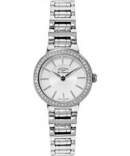 Rotary LB90081-02 Ladies les originales relógio de prata