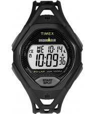 Timex TW5M10400 Mens ironman elegante pulseira de relógio resina preta