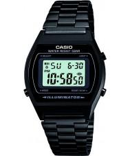 Casio B640WB-1AEF Mens coleção retro relógio preto digitais