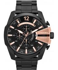 Diesel DZ4309 Mens mega-chefe relógio ip preto cronógrafo