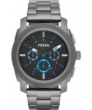 Fossil FS4931 Mens máquina de relógio cronógrafo fumaça