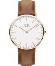 Daniel Wellington DW00100109 Durham 40 milímetros rosa clássico relógio de ouro