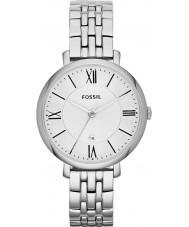 Fossil ES3433 Senhoras prata Jacqueline pulseira de aço tom de relógio