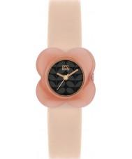 Orla Kiely OK2060 Ladies papoula flor rosa estojo de couro nua pulseira de relógio