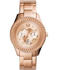 Fossil ES3590 Ladies stella subiu relógio de ouro