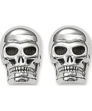 Thomas Sabo H1731-001-12 brincos crânio do parafuso prisioneiro de prata