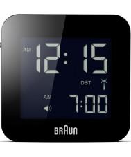 Braun BNC008BK-RC despertador global controlado por rádio viagens - preto